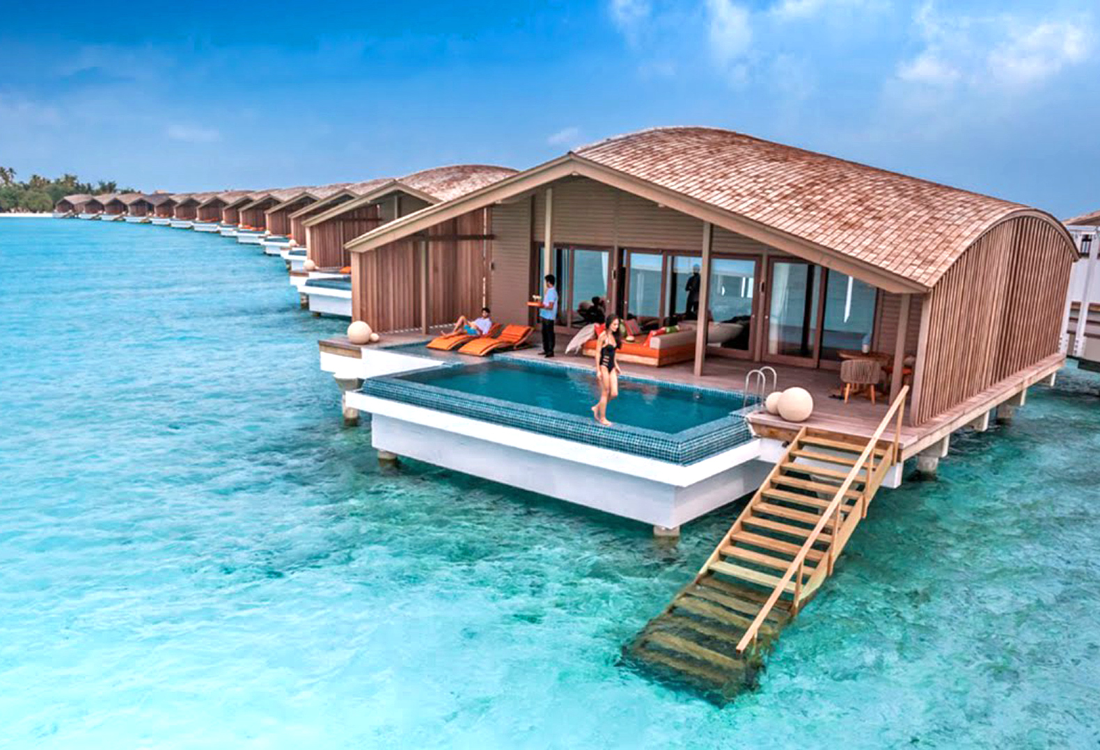 Travel To A Resort In The maldives