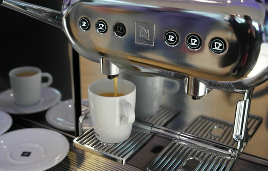 Range Of Coffee Machines Available At A Single Point